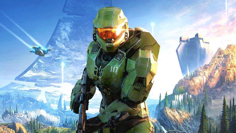 Cover art for Halo Infinite