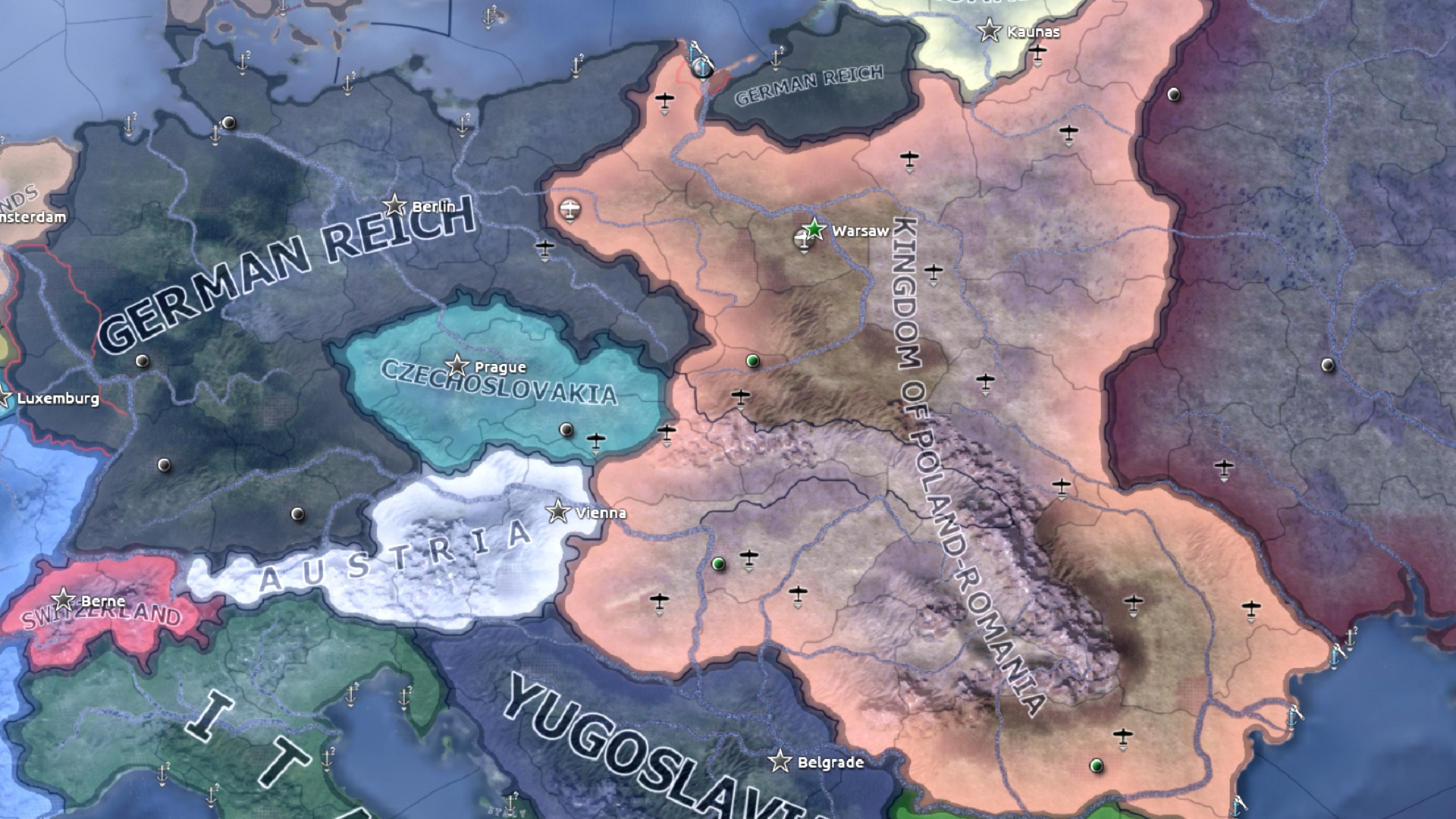 Hearts of Iron 4's new DLC and patch will explore Poland's rich, alternative, history