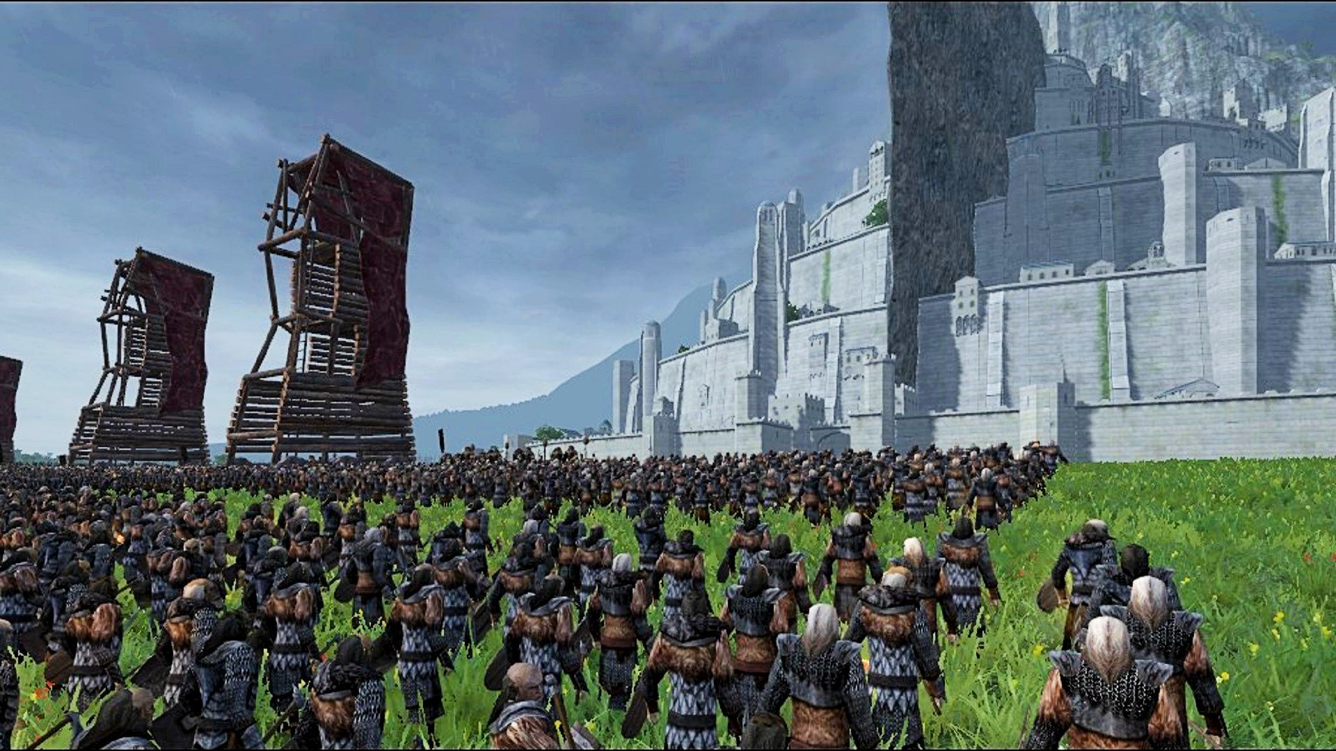 Forget Warhammer 3 – it's time for Total War: Lord of the Rings