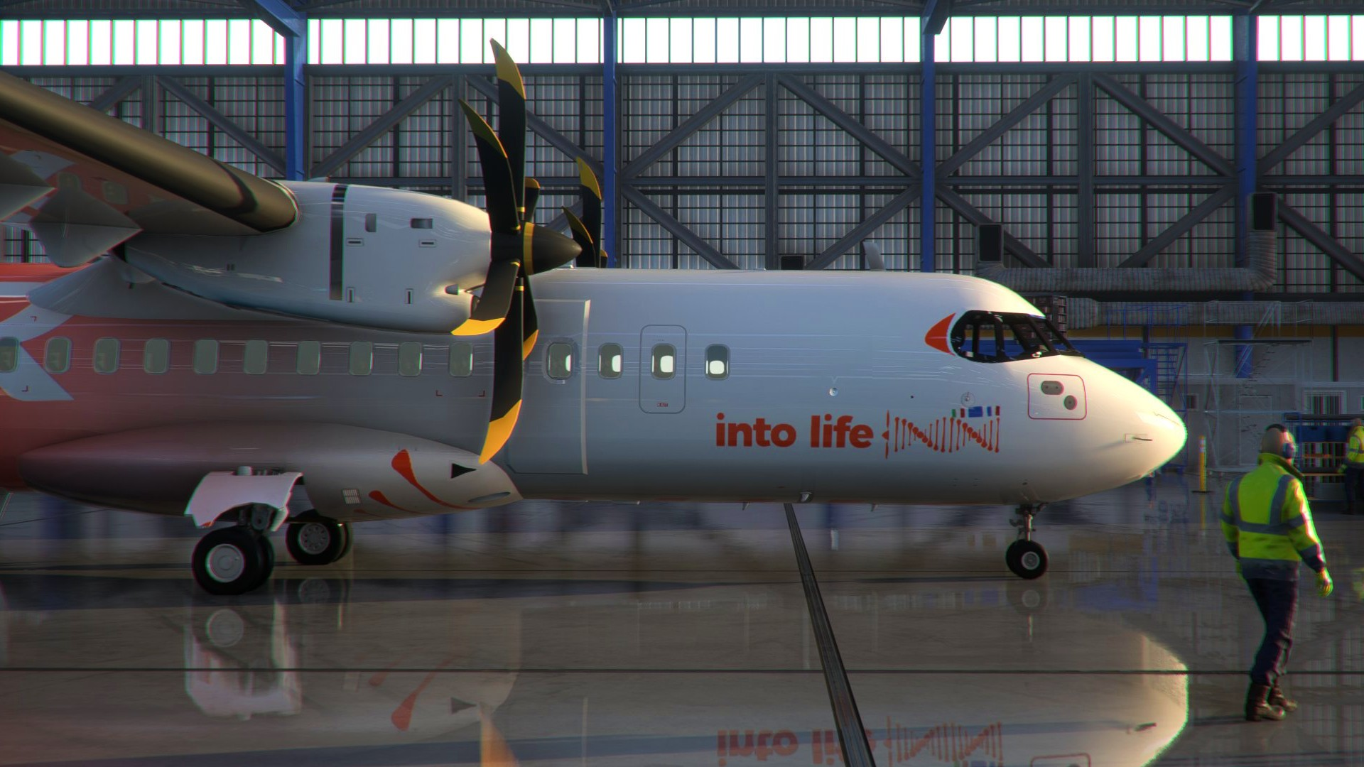 Microsoft Flight Simulator is getting the ATR 42-600 turboprop airliner in 2022