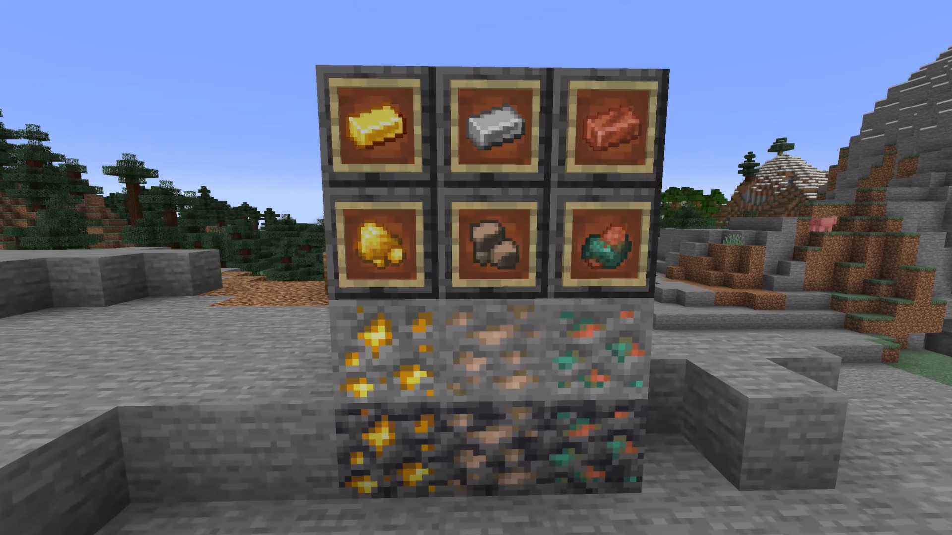 Minecraft iron, gold, and copper will soon drop raw ore instead of blocks