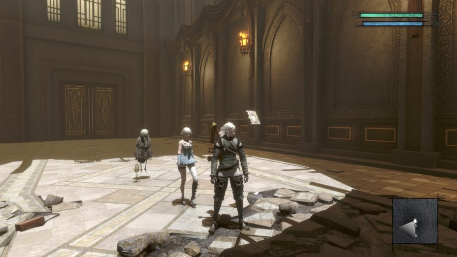 Your party in Nier Replicant