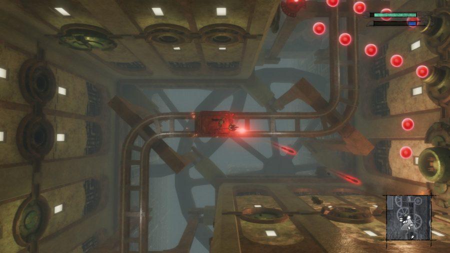 Top-down combat in Nier Replicant