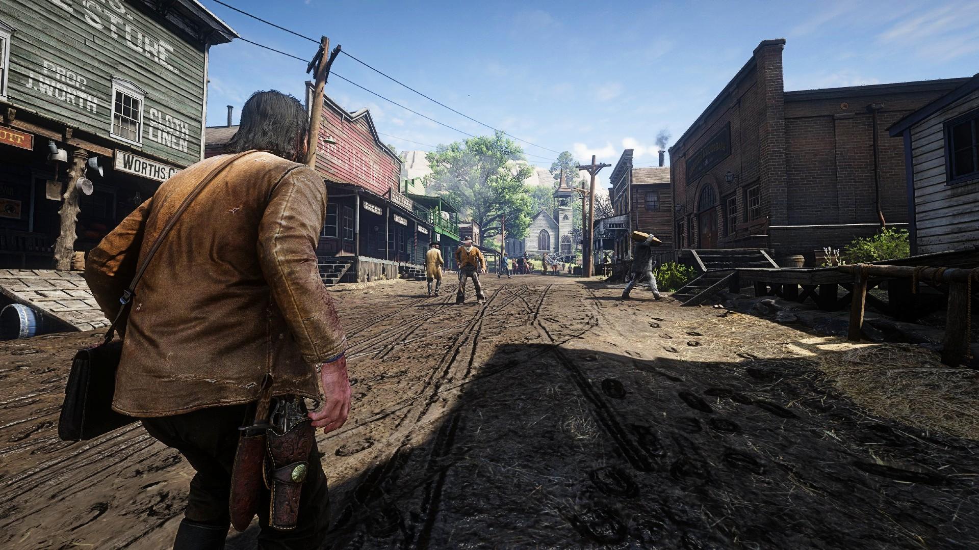 This Red Dead Redemption 2 mod lets you duel NPCs