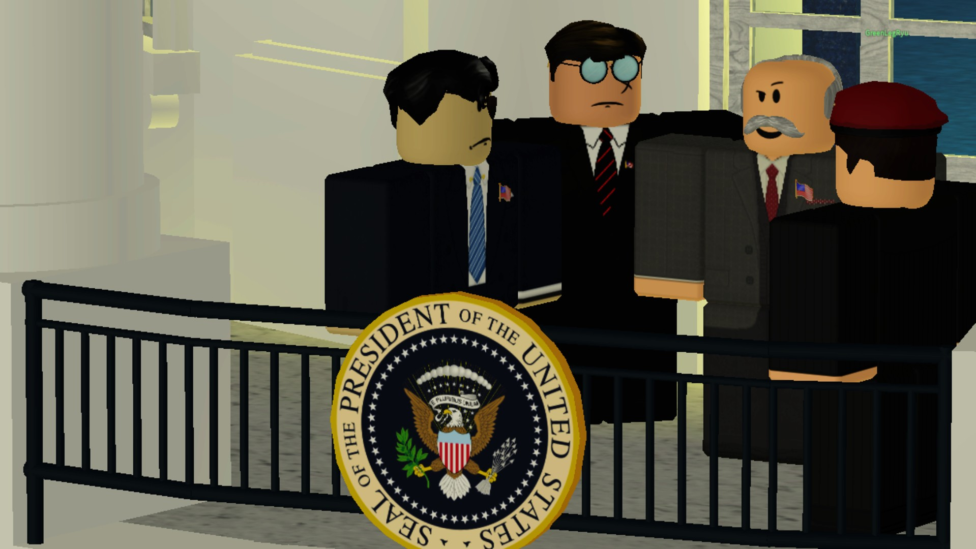 "A Roblox player managed to ""sneak"" into the White House press corps"