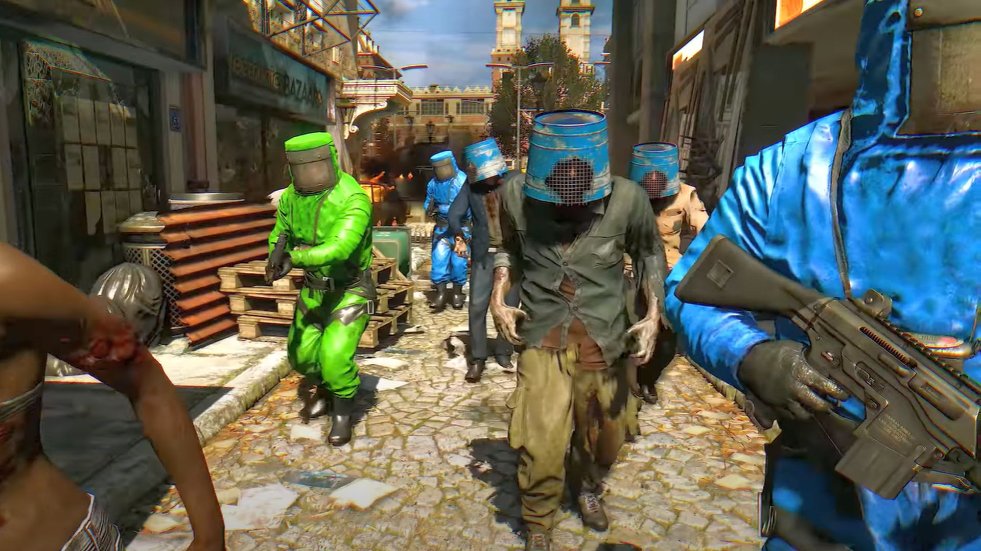 Dying Light gets a crossover with survival game Rust