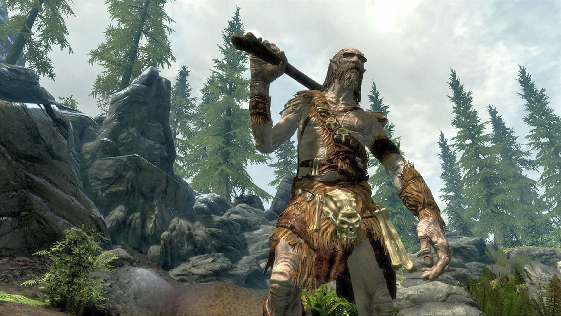 This Skyrim mod lets you yeet NPCs across the land like a giant