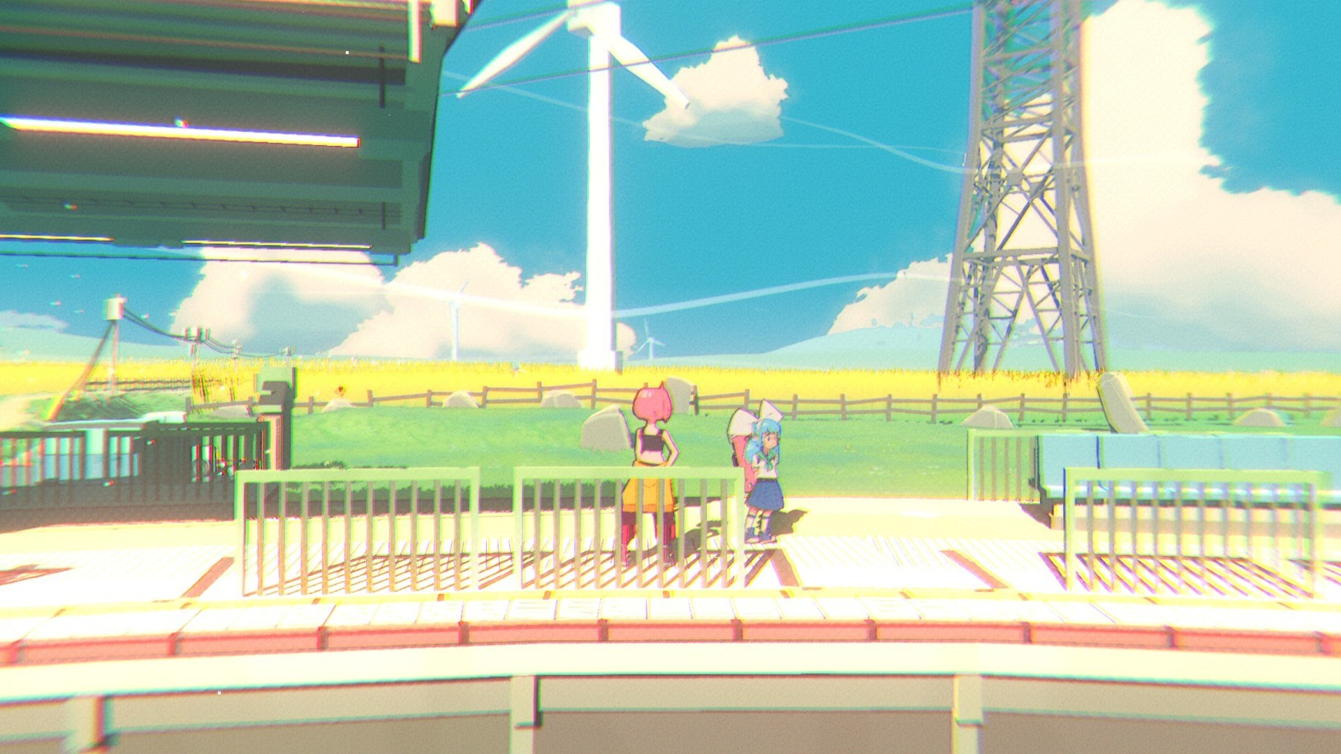 Unbeatable is an anime rhythm game where music is illegal, coming to Steam