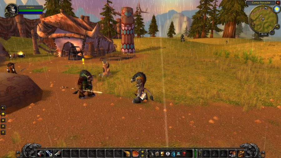 Chatting to randoms in WoW Classic