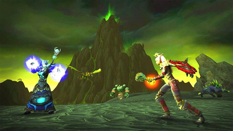 Battle cinematic in WoW Classic Burning Crusade