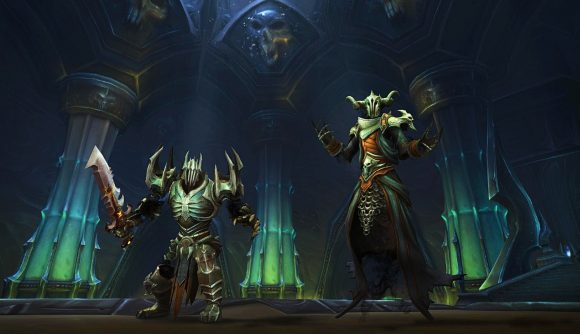 Two enemies in WoW Shadowlands' Torghast dungeon