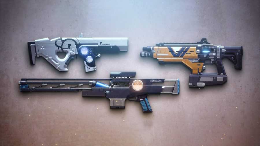 The three Destiny 2 Nightfall weapons that are on weekly rotation for Season of the Splicer.