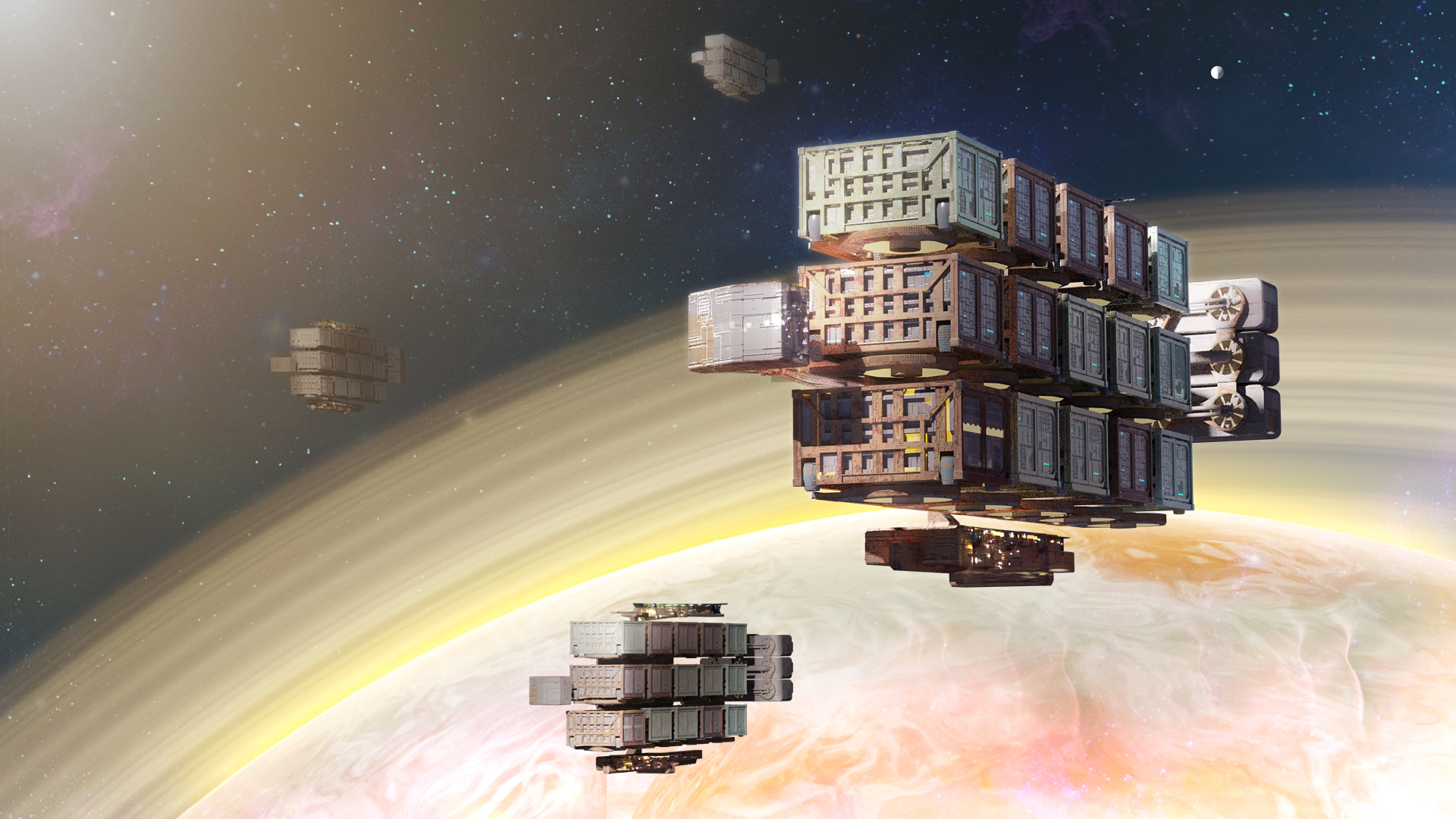 Watch a live demo of upcoming space 4X game Distant Worlds 2 in action