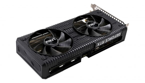 Palit's Nvidia RTX 3060 has a simpler design with two fans