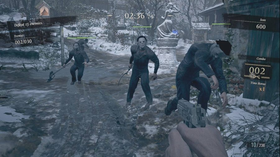 Итан сражается с тремя врагами Майкла Майерса в этом моде для Resident Evil Village.