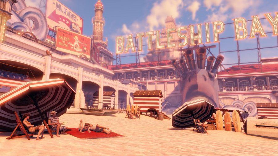 Battleship Bay from Bioshock Infinite