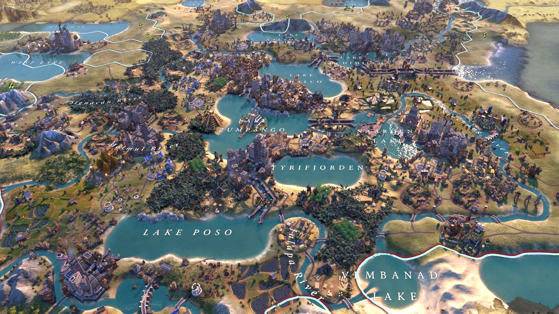 This Civ 6 screenshot reminds us how good Civ 5's art style was