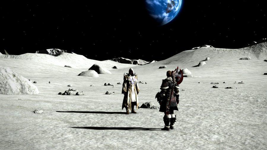 FFXIV Endwalker moon cutscene