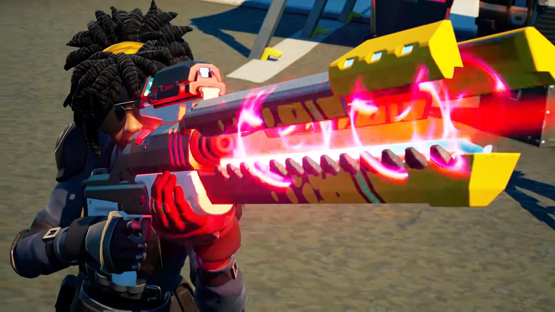 Weapons Back In Fortnite Fortnite New Guns Here Are All The New Weapons In Fortnite Season 7 Pcgamesn