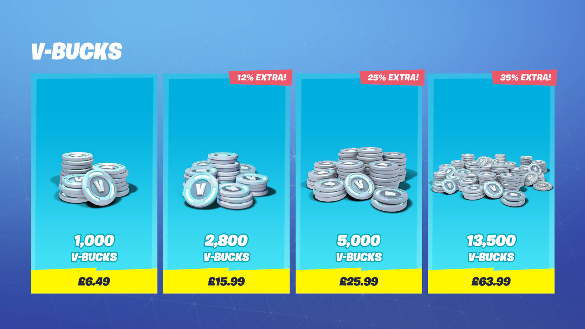 Fortnite 40 Dollar Vbucks Fortnite V Bucks What They Are How Much Do They Cost And Can You Get Free V Bucks Pcgamesn