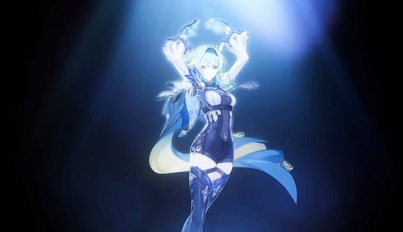 Genshin Impact's latest banner character Eula does a dance