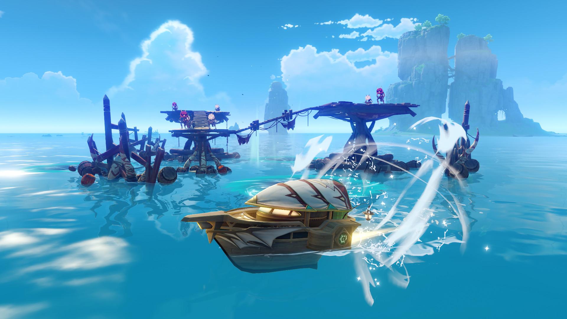 Genshin Impact isn't just Zelda: Breath of the Wild anymore – now it's Wind Waker
