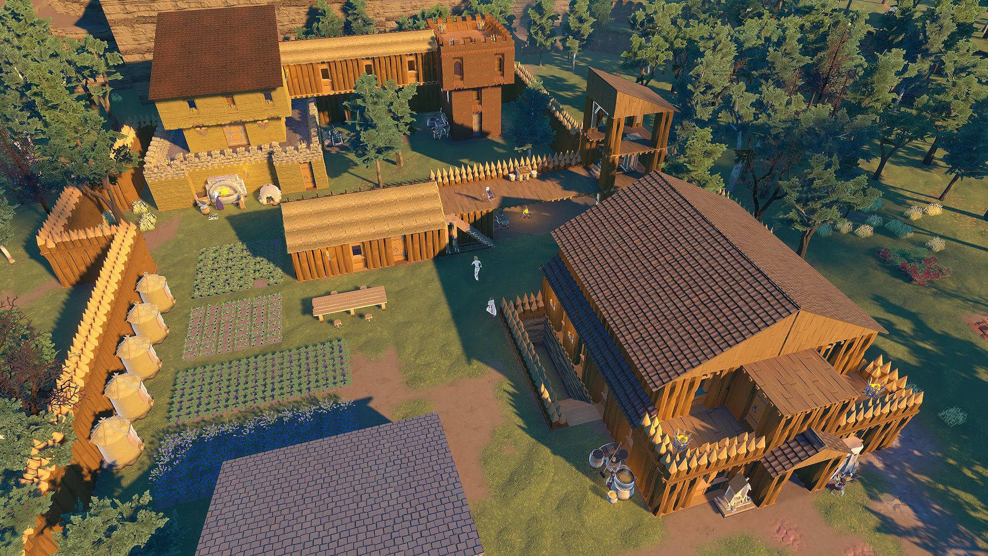Charming city building game Going Medieval hits Steam Early Access soon   PCGamesN