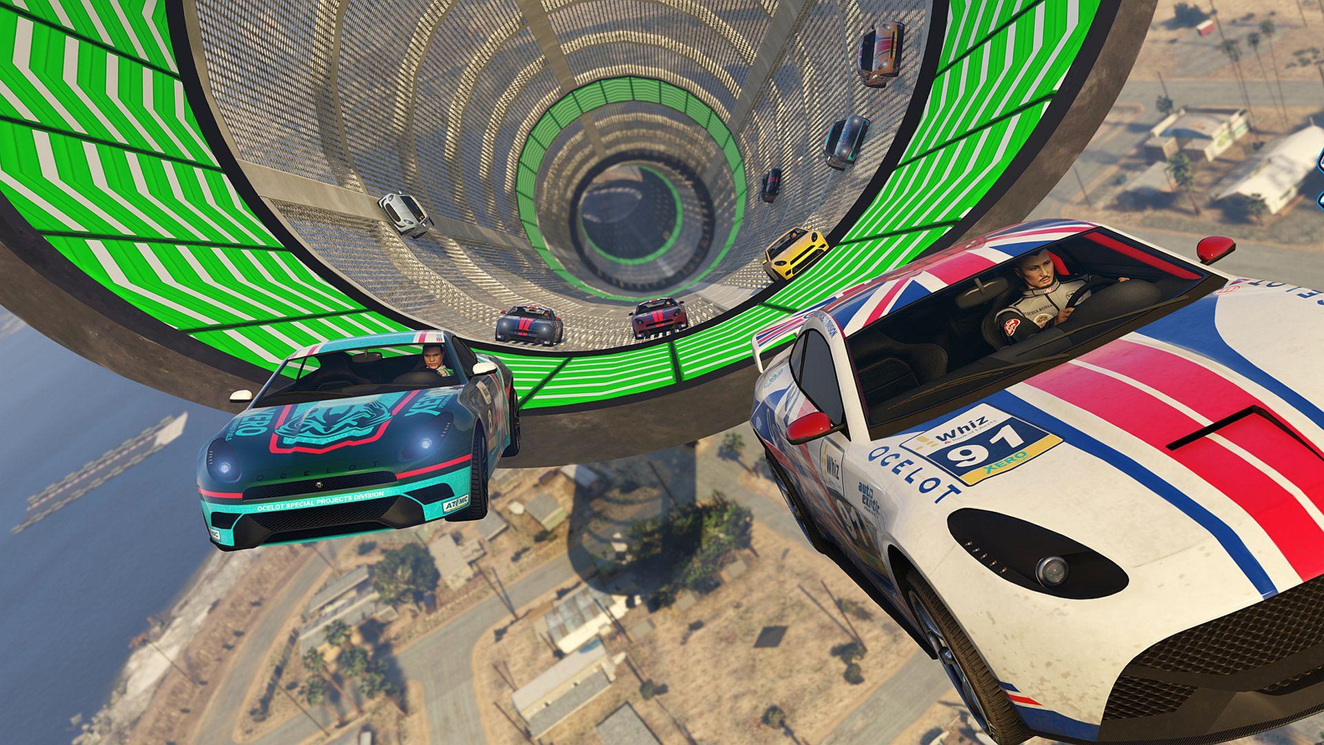 GTA Online weekly update adds eight new Stunt Races