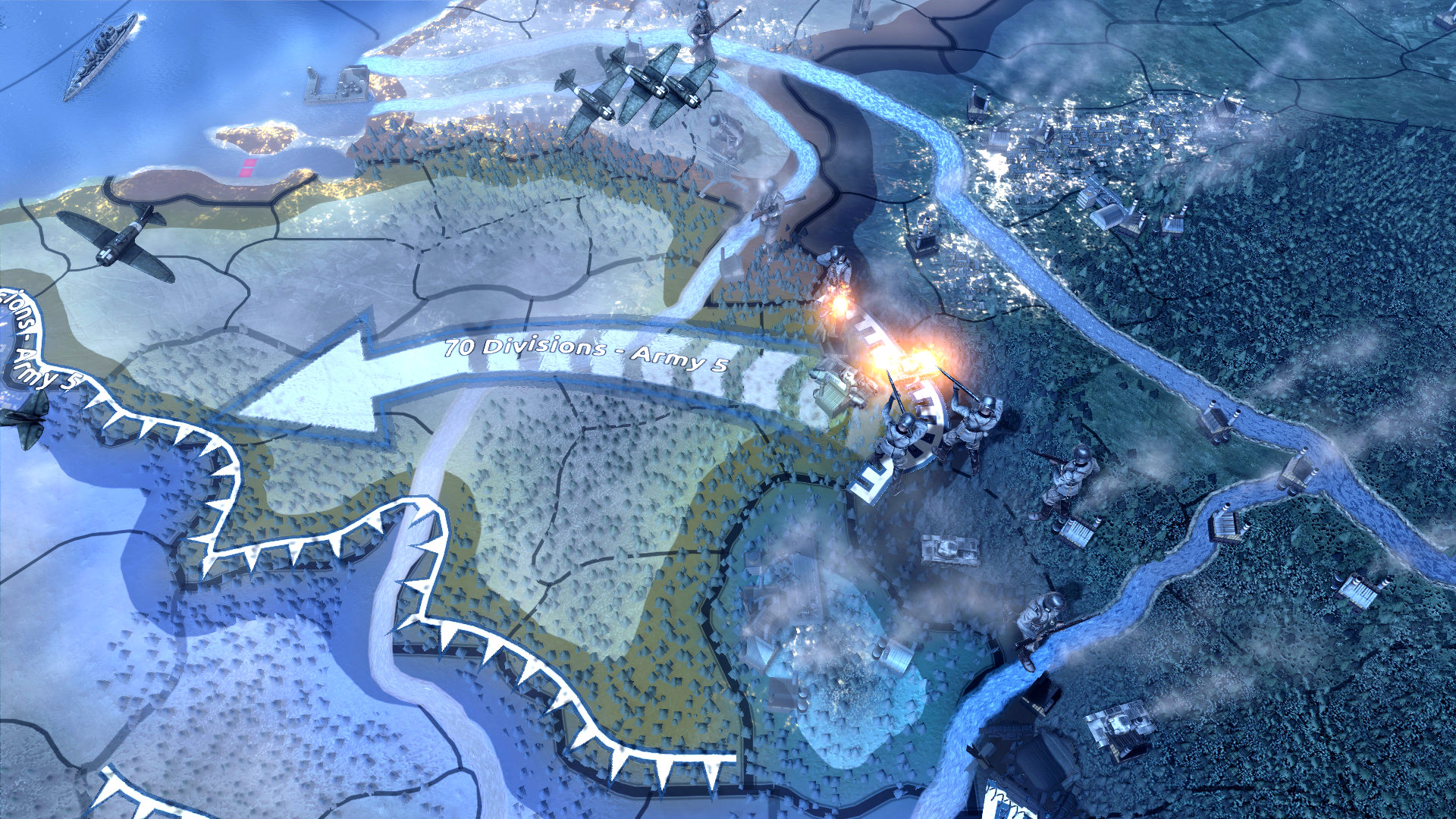 Hearts of Iron 4's grand campaign is live, using a custom mod developed in six days