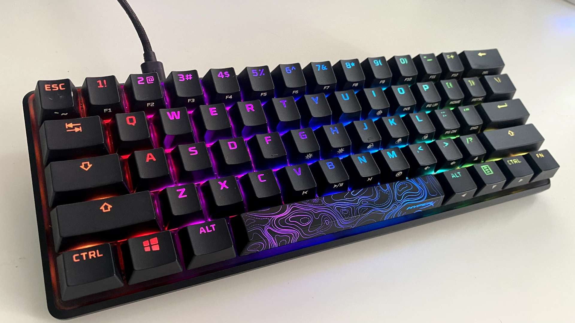 HyperX Alloy Origins 60 review – linear switches or bust