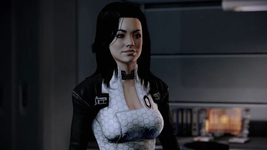 Miranda, one of the romantic options in Mass Effect