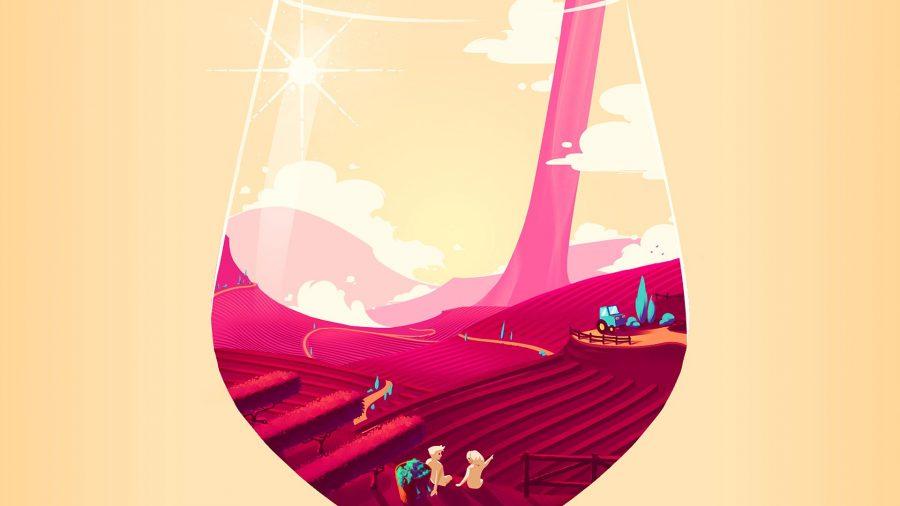 Key art for winemaking sim Hundred Days