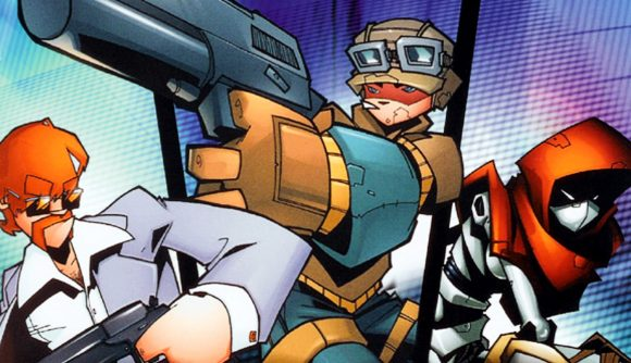 The cover of TimeSplitters 2