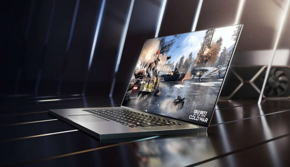 An RTX 3050-based laptop running Black Ops Cold War