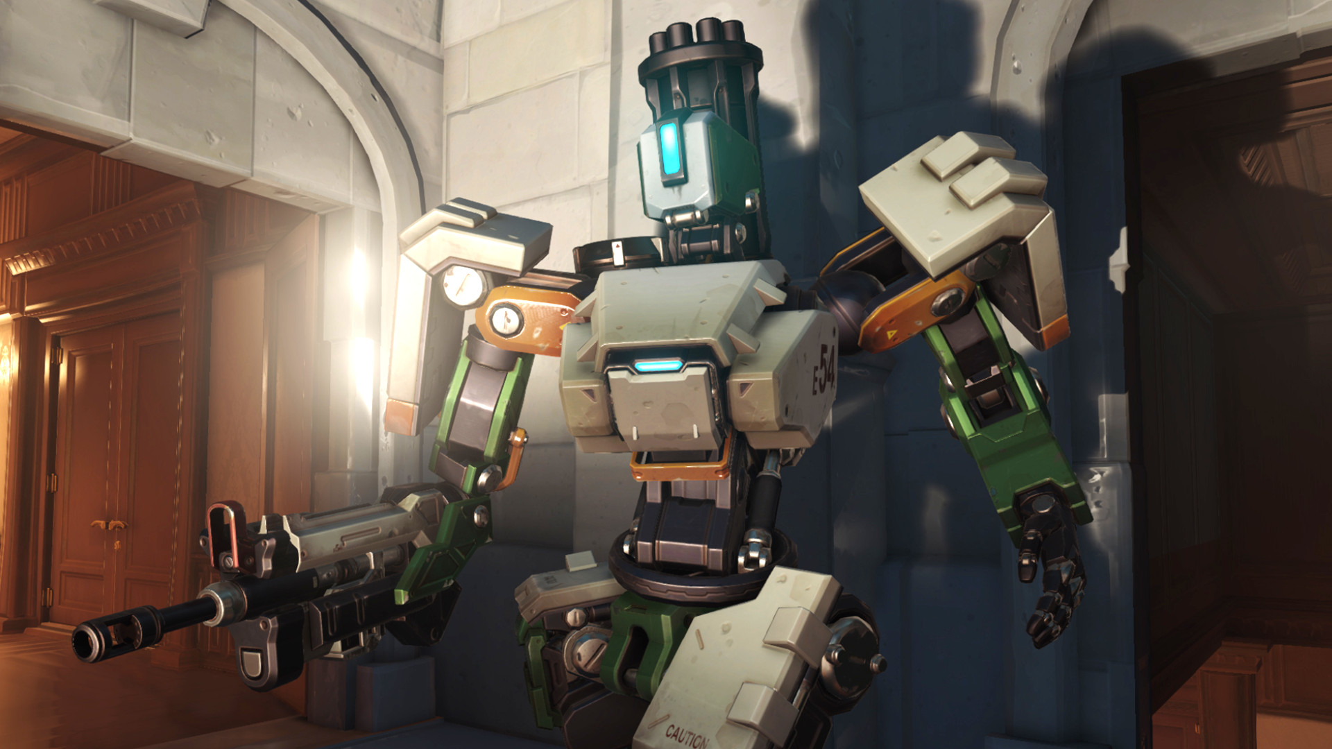 Overwatch 2's Bastion rework could make him more mobile in sentry mode |  PCGamesN