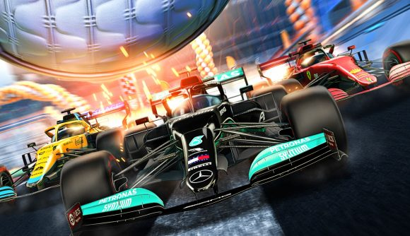 Rocket League's new F1-themed cars