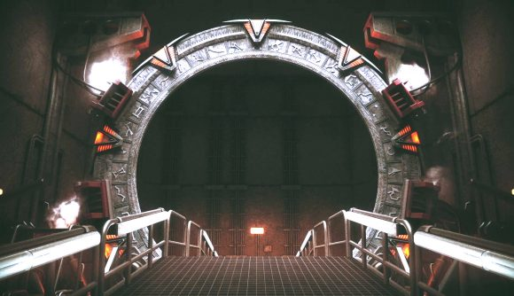 The stargate, from stargate timekeepers