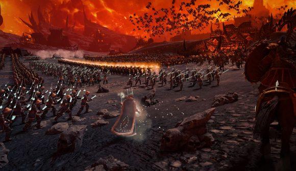 Survival battle in Total War: Warhammer III