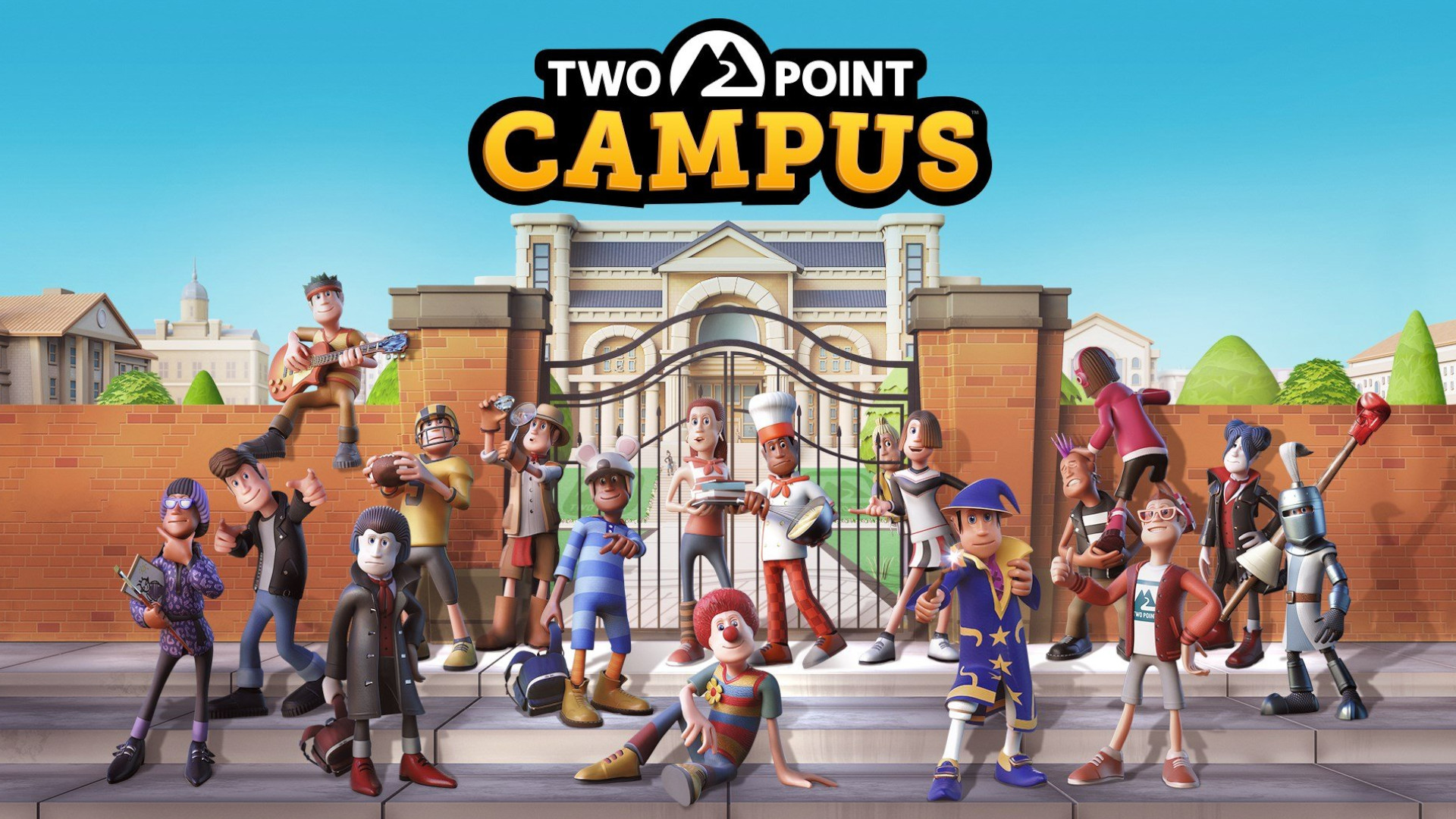 Two Point Hospital goes to college in the newly-leaked Two Point Campus