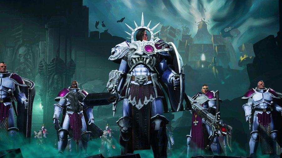 Player created character in Warhammer Age of Sigmar Storm Ground