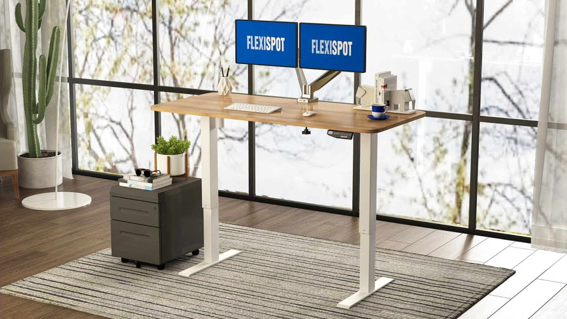 Flexispot's adjustable desks are currently 30% cheaper ahead of Amazon Prime Day