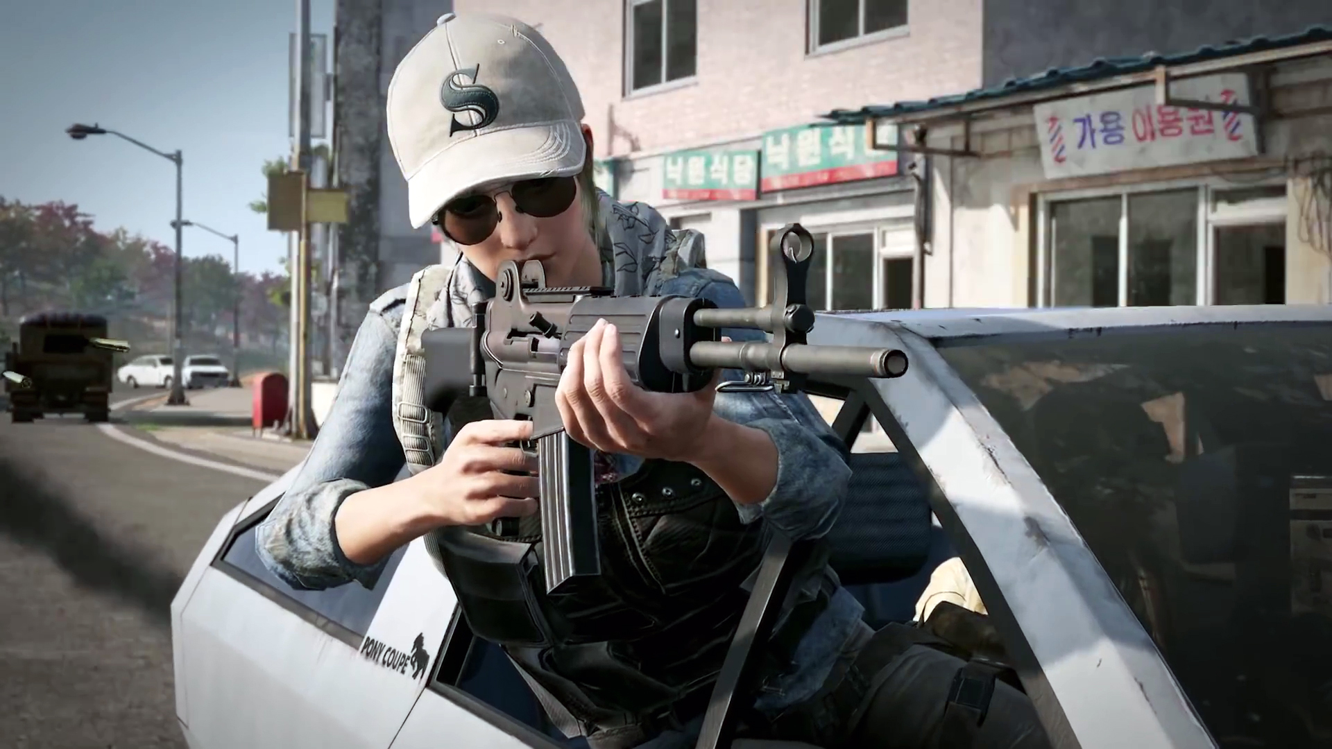 Self-pickup, new guns, and Pony Coupe coming in PUBG's Taego update