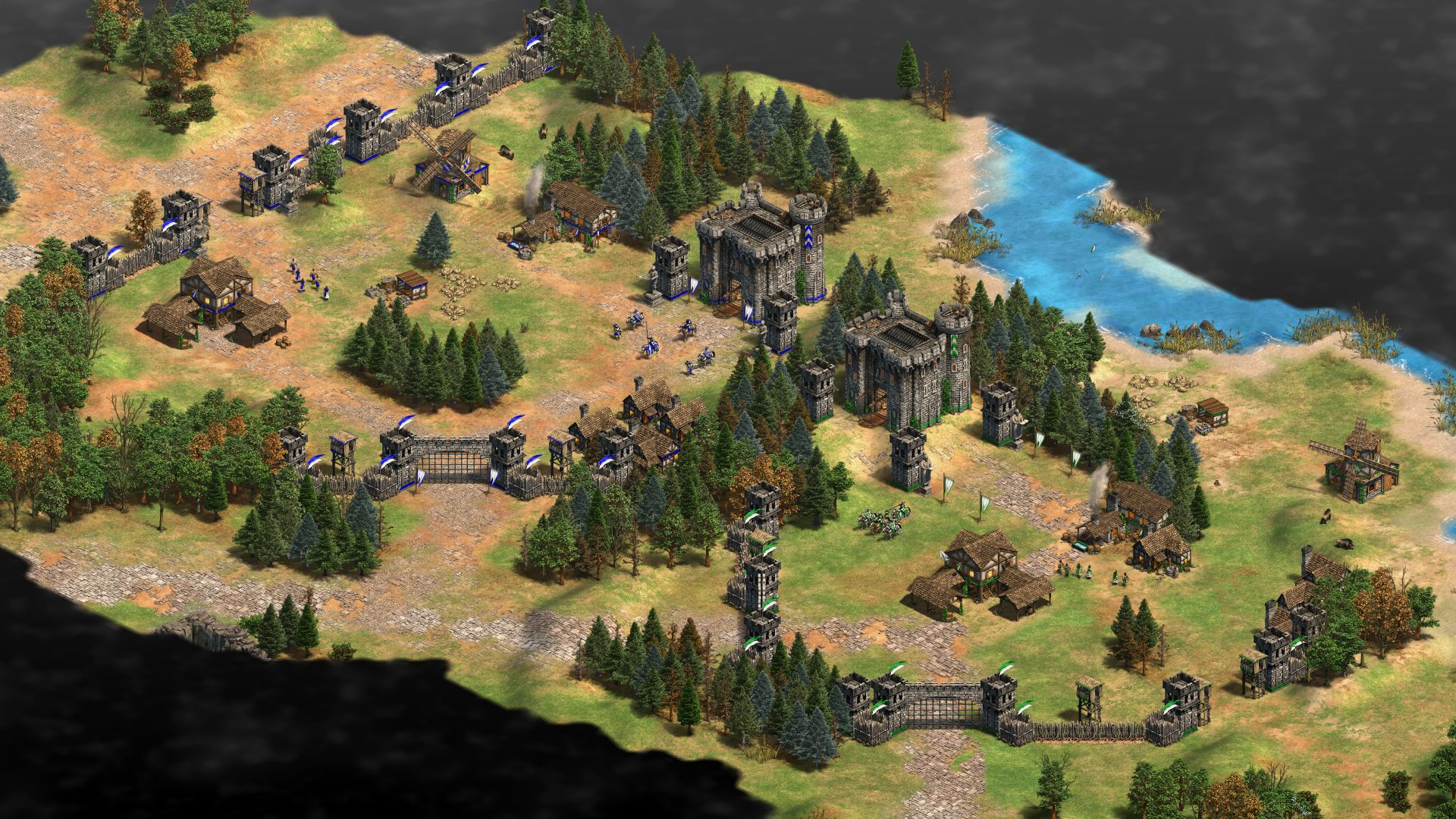 Age of Empires 2: DE co-op has come to the RTS game's public beta