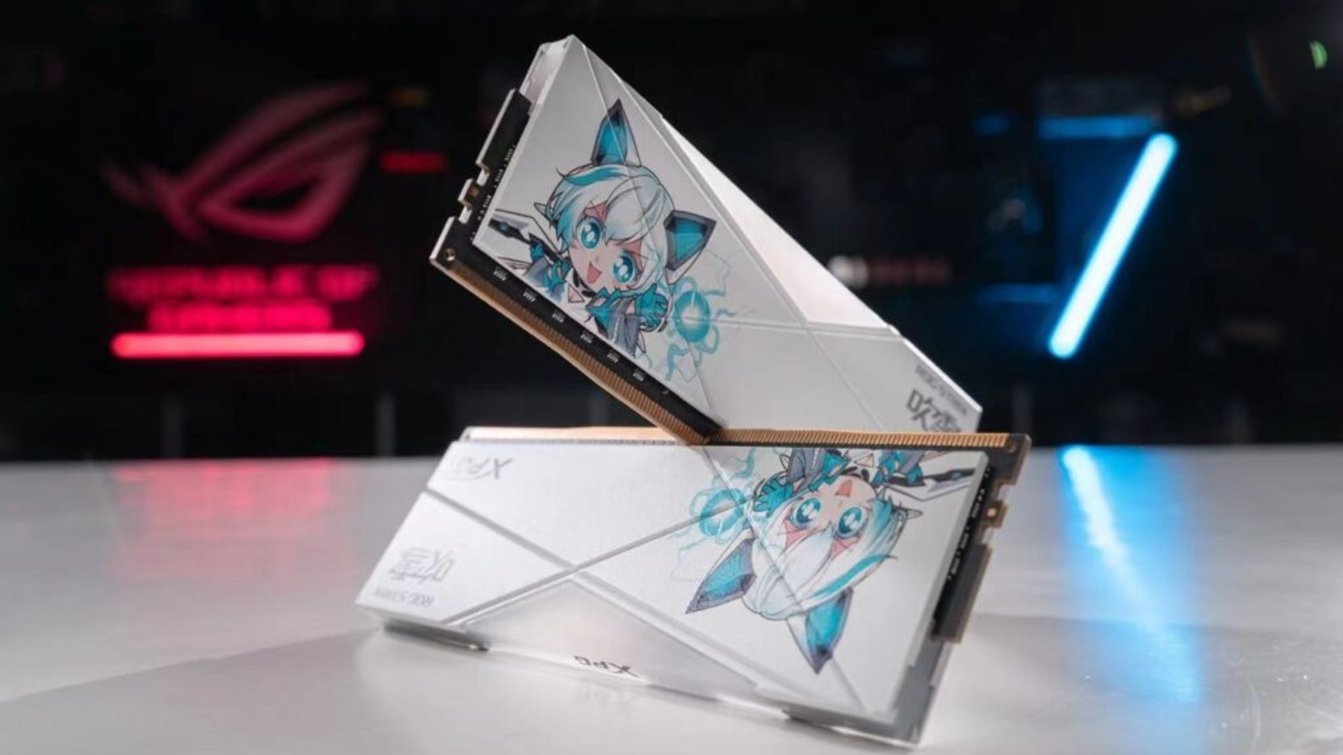 Teamgroup releases new DDR5 RAM, while Asus and XPG go full anime with DDR4