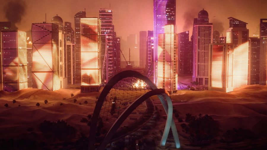 Doha arches