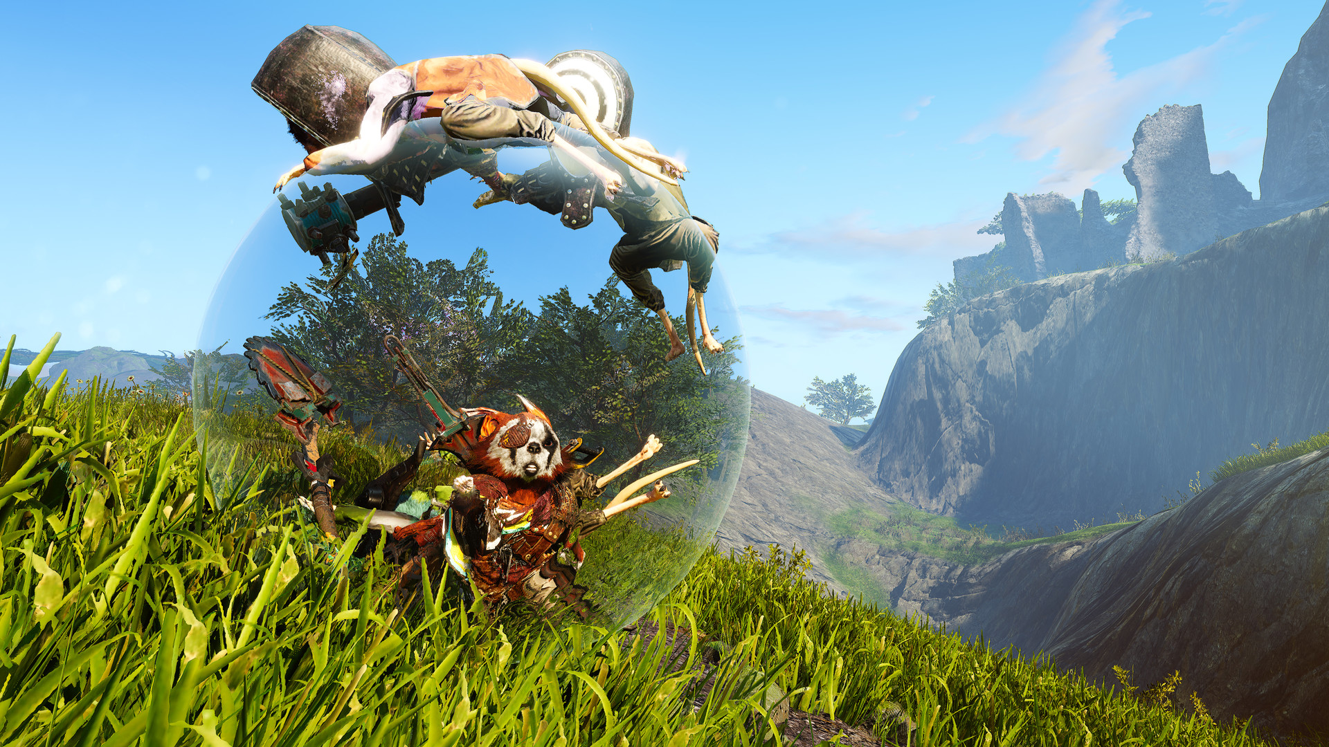 Biomutant patch lets you turn off the narrator