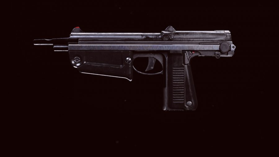 The AMP63 pistol introduced in the Warzone Season 3 Reloaded update
