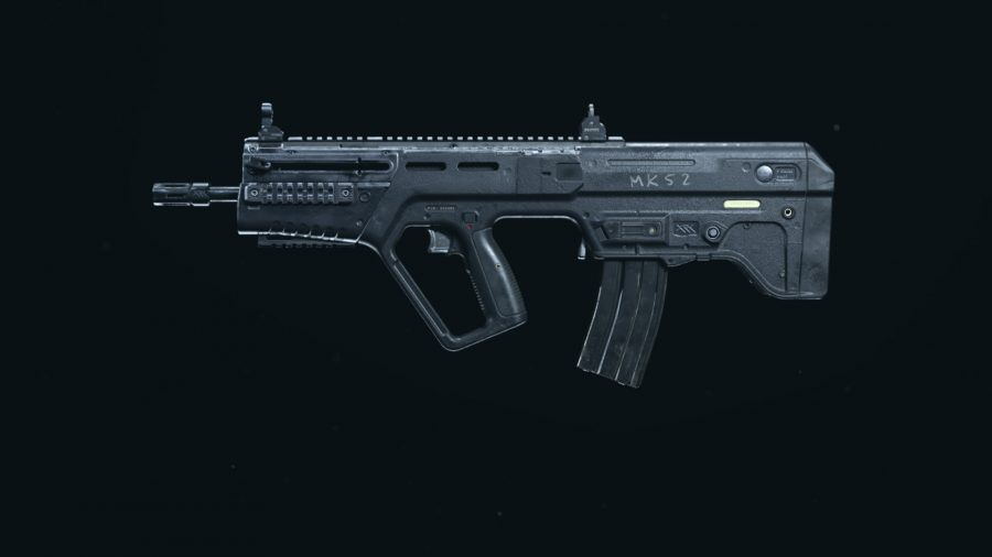 The RAM-7 in Call of Duty Warzone's preview weapon menu