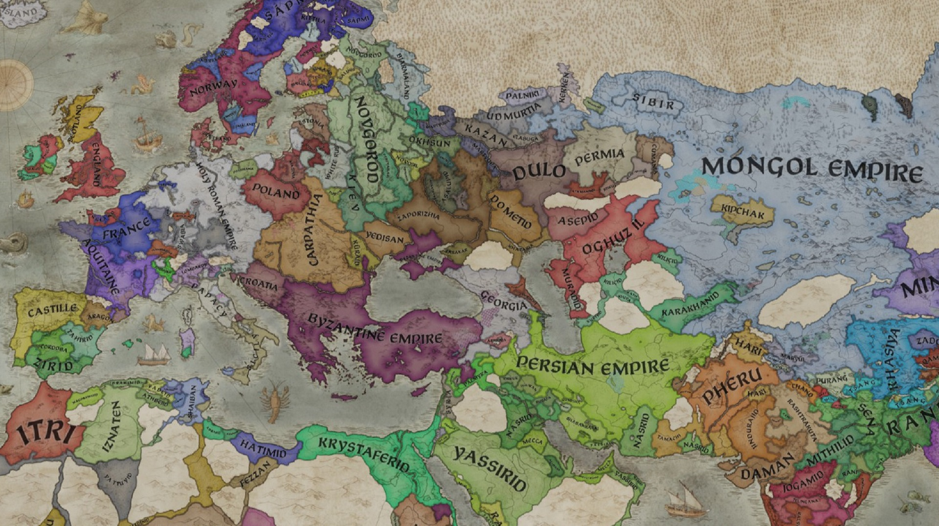 Crusader Kings 3 patch 1.4 'Azure' improves for warfare, traits, and interactions