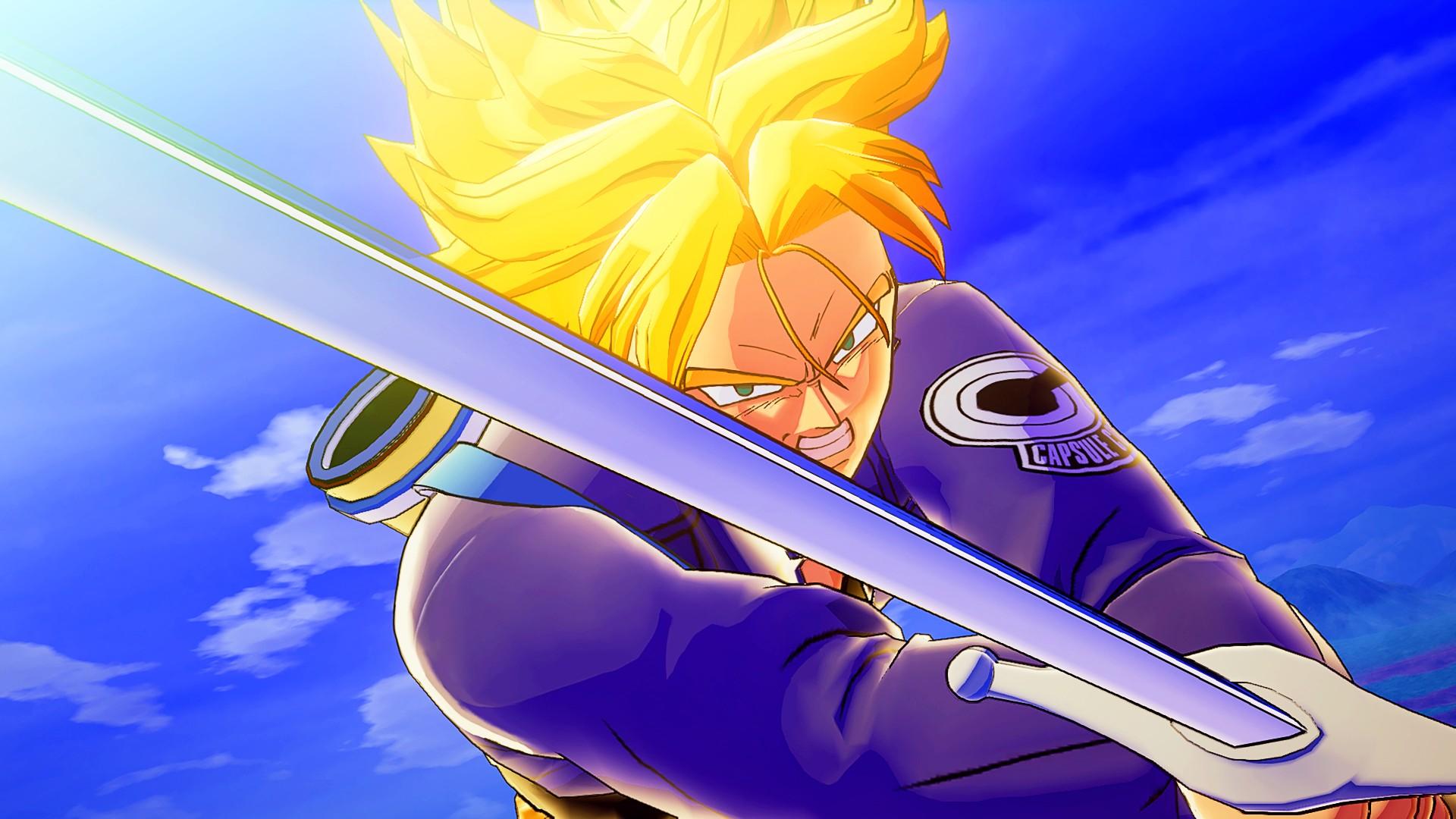 Dragon Ball Z: Kakarot's Trunks DLC releases next week